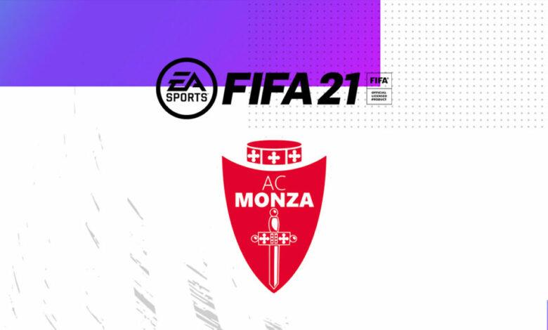 FIFA 21: se anuncia la asociación con Monza