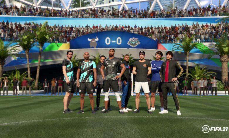 FIFA 21: se anuncian los equipos y talentos de VOLTA Football