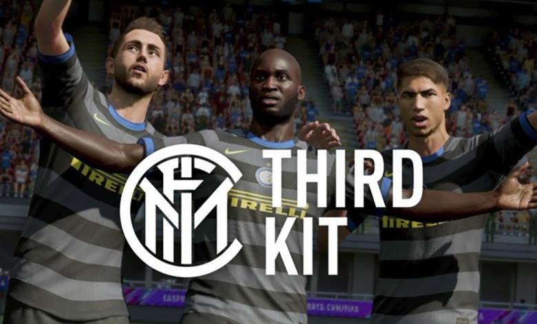 FIFA 21: se ha presentado la tercera equipación del Inter para la temporada 2020/21