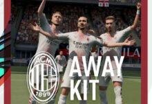 FIFA 21: se ha presentado la tercera equipación del Milán para la temporada 2020/21
