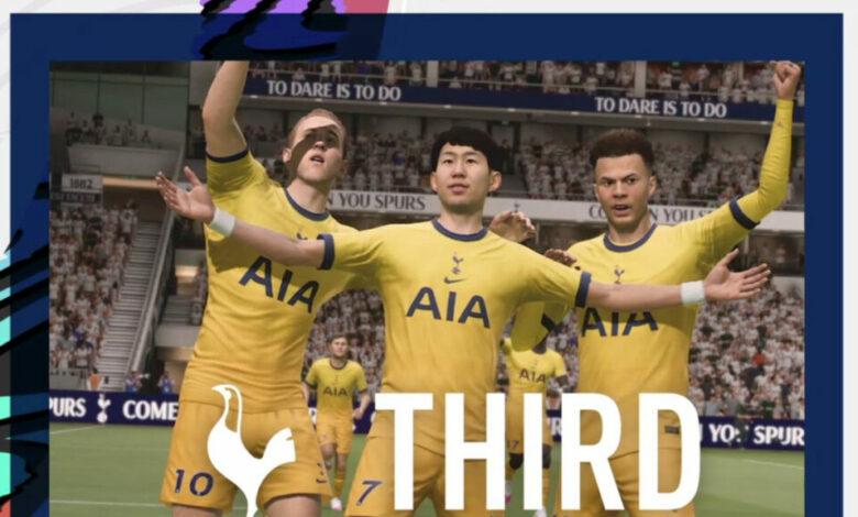FIFA 21: se revela la tercera equipación del Tottenham para la temporada 2020/21