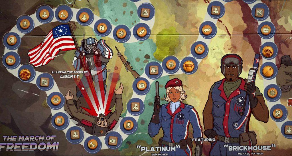 Fallout 76 Season 2 Badlands For All tablero de juego