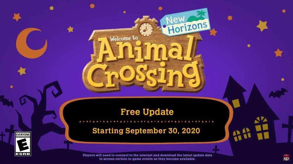 animal crossing new horizons otoño actualización fecha de lanzamiento