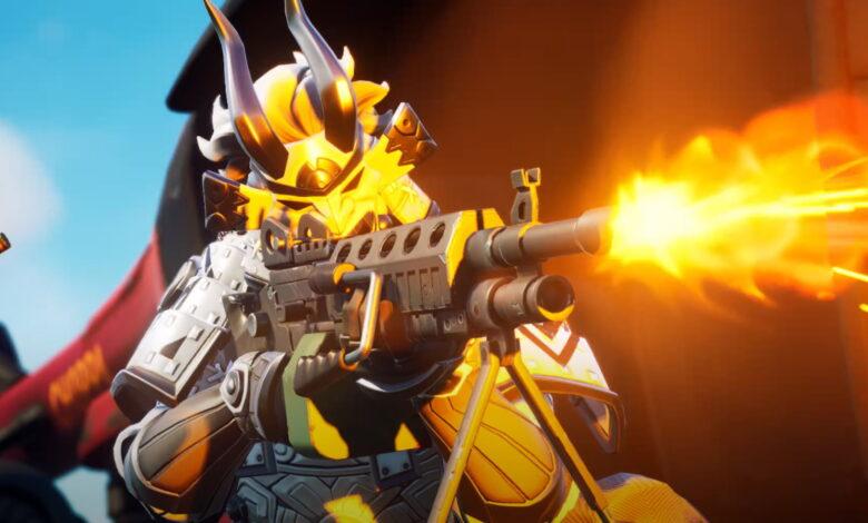 Fortnite muestra el primer juego en PS5: se ve genial