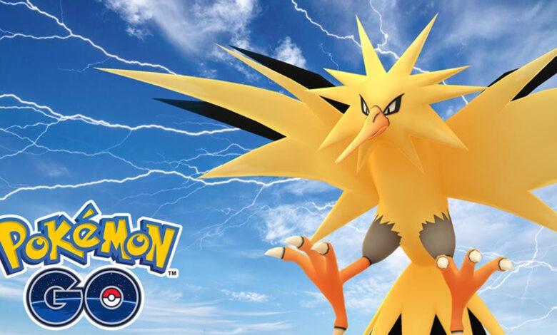 Hoy comienza la única hora de incursión con Zapdos en Pokémon GO; debes saber que