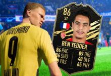 La estrella del fútbol Ben Yedder sabe lo OP que es en FIFA: dispara goles extra para TOTW