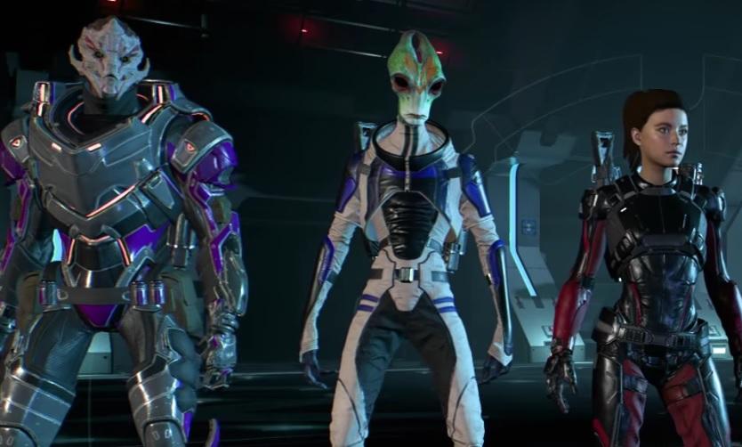 Tripulación multijugador de Mass Effect