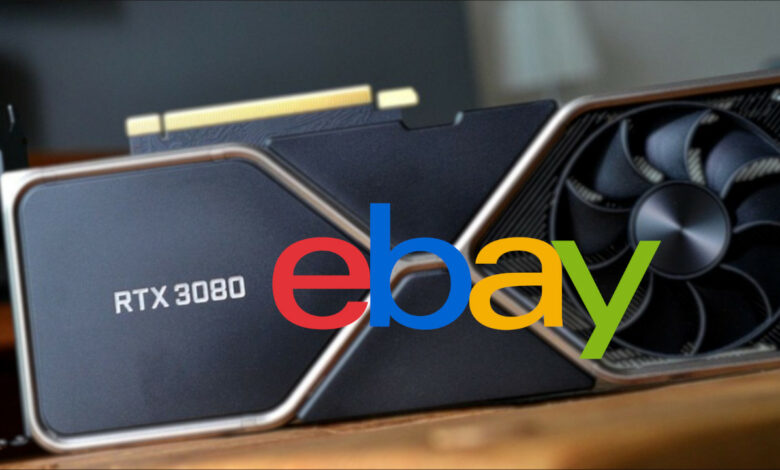 La tarjeta gráfica RTX 3080 ya está agotada: se vende a precios altos en eBay