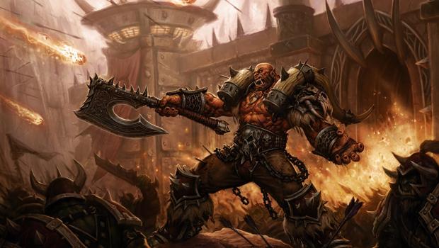world of warcraft héroes de la tormenta garrosh hellscream