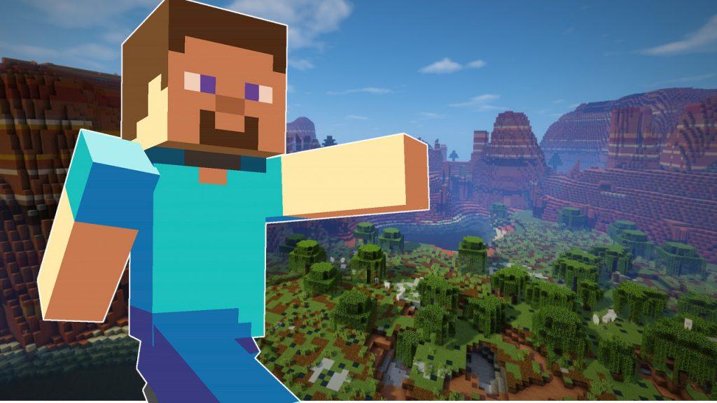 Título de Steve de Minecraft 1280x720