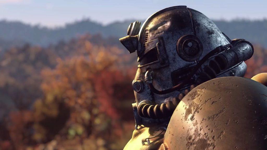 Casco Powerarmor de Fallout 76