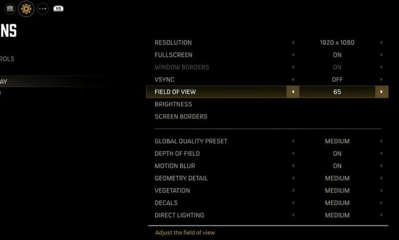Mafia DE graphics settings