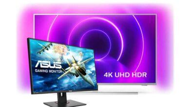 Monitores para juegos, Ambilight TV y mucho más en Cyberport reducido