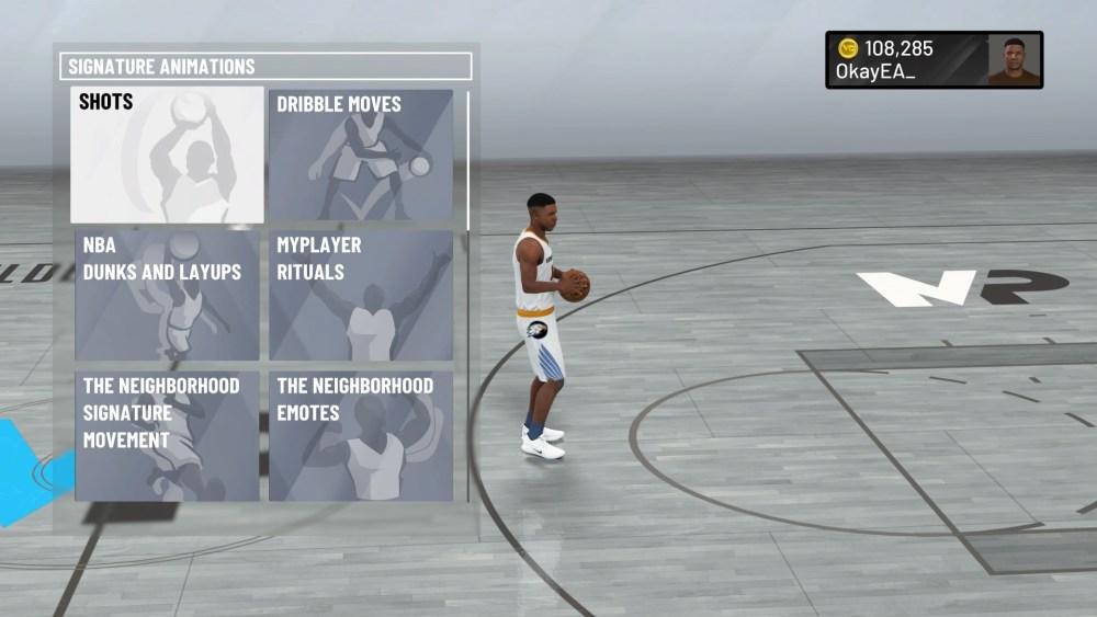 NBA 2K21, Editar animaciones