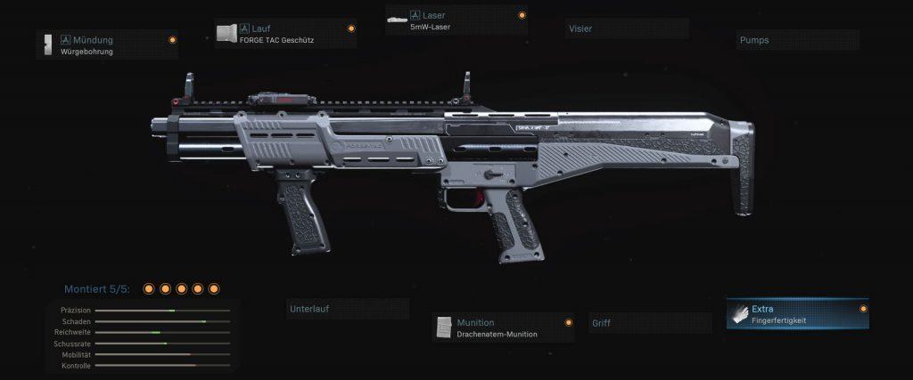 armas de zona de guerra de bacalao r9-0 configuración munición de respiración de cometa