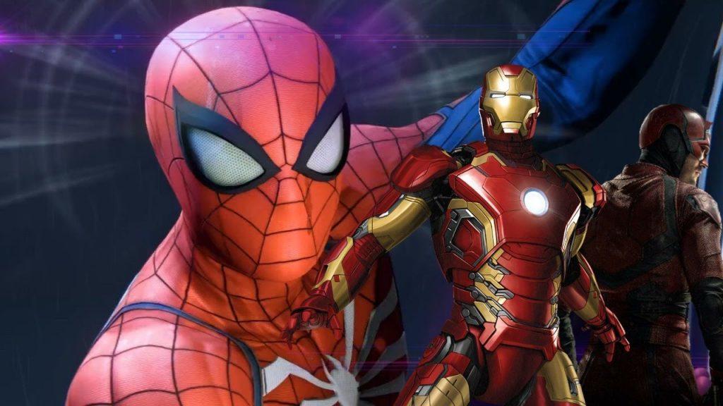 Marvel's Avengers Spidermen exclusivo de ps4