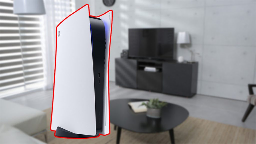 Imagen de portada de PS5 en la sala de estar: así es como funciona