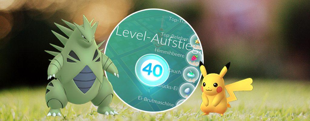 Título de Pokémon GO Nivel 40