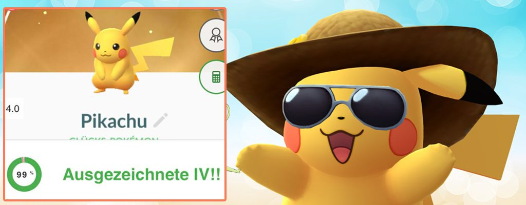 Pokémon GO IV Suerte
