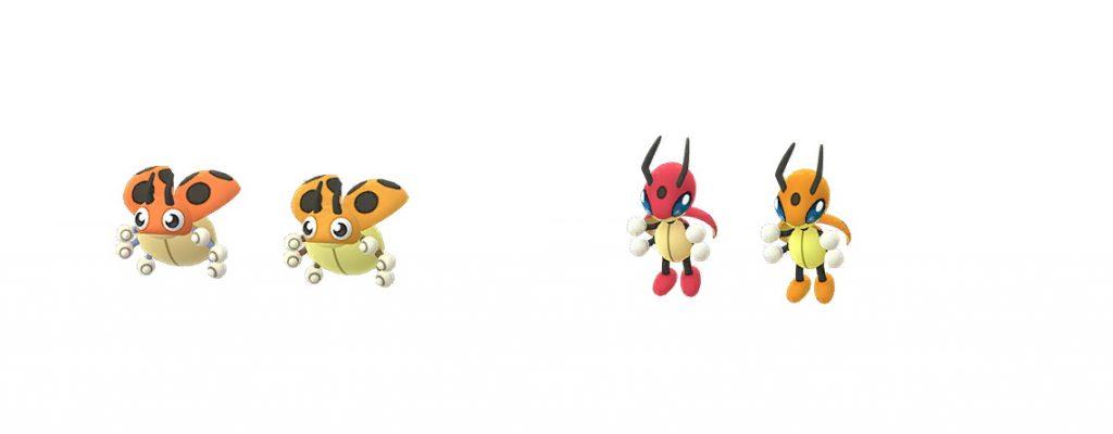Brillante Ledyba Pokemon GO