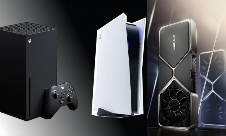 RTX 3080: así de grande es la tarjeta gráfica en comparación con PS5, Xbox Series X.
