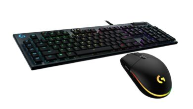 Ratón para juegos Logitech G203 y teclado G815 reducido en Amazon