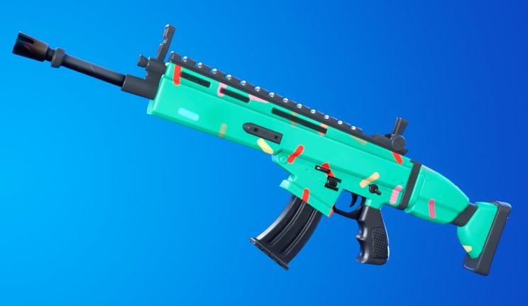 Fortnite cumpleaños 2020 arma 2