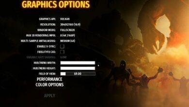 Serious Sam 4 - Mejores configuraciones de gráficos