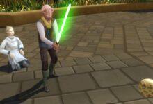 Photo of Sims 4 Journey to Batuu: Cómo conseguir un sable de luz
