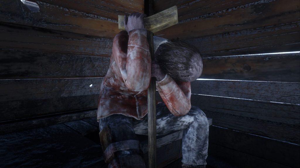 Inodoro tipo Red Dead Redemption 2 congelado