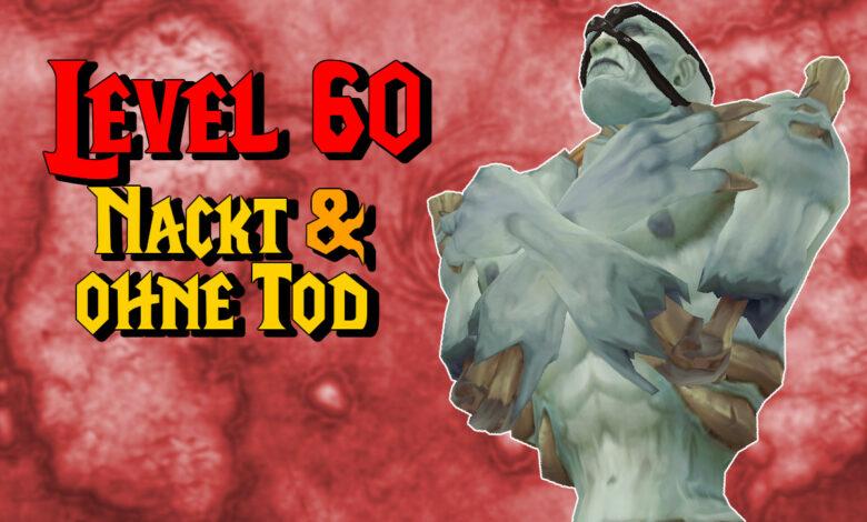 WoW Classic: el jugador alcanza el nivel máximo 60, desnudo y sin morir