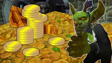 WoW: Cualquiera que guarde materiales ahora podría ser extremadamente rico en Shadowlands