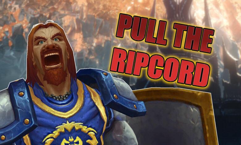WoW Shadowlands: Los jugadores exigen #PullTheRipcord - ¿Qué hay detrás?