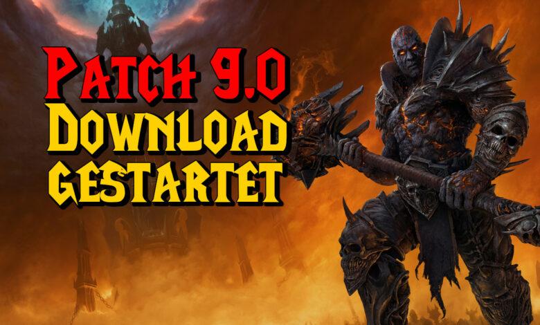 WoW Shadowlands: Pre-Patch 9.0 está por llegar, así que comienza la descarga