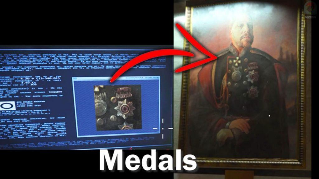 medalla de rompecabezas de planos de metro secreto de zona de guerra de bacalao