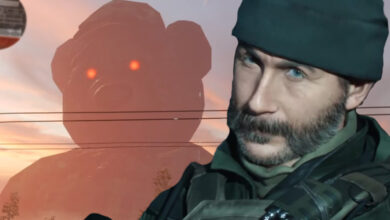 CoD Modern Warfare esconde un oso de peluche gigante de Godzilla: así es como lo atraes