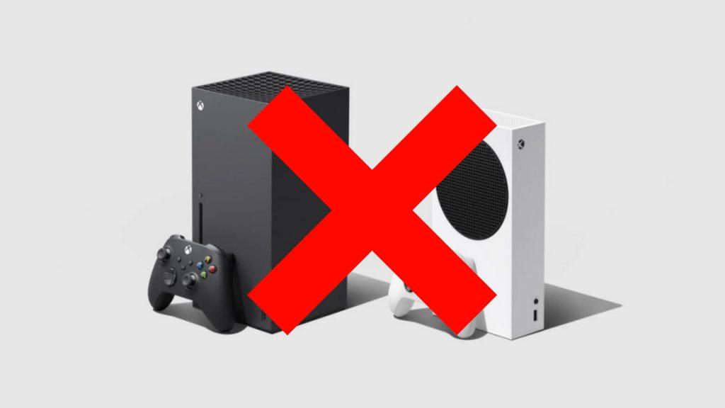 Cruz de Xbox Series X
