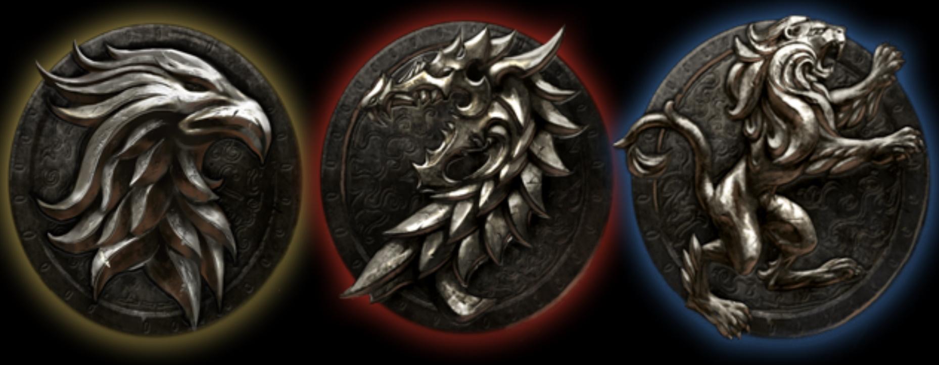 ESO quiz león dragón águila escudo