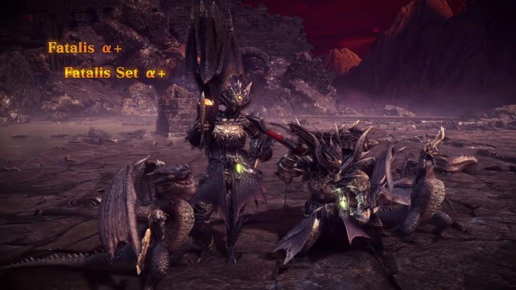 Actualización 5 de la armadura Fatalis de MHW