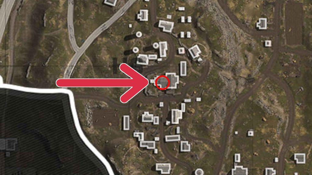 imagen de mapa 5 de misiones secretas de zona de guerra de bacalao