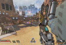 Apex Legends - Pathfinder Grapple Bug - Brazo que cubre la pantalla después de Grapple