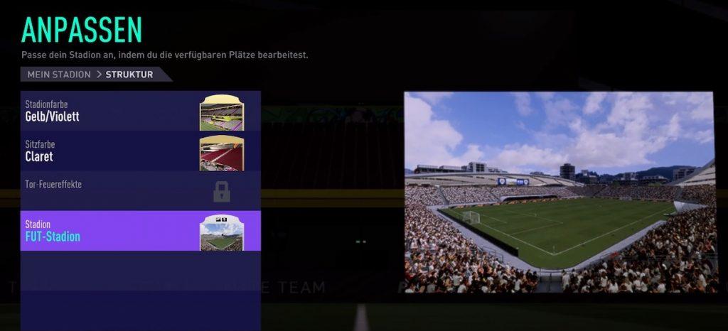 Estadio del modo carrera FIFA 22