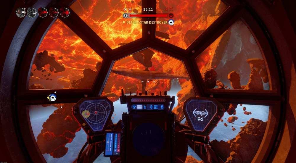 Cómo destruir buques insignia en escuadrones de Star Wars