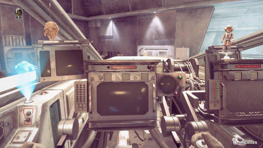 gadgets de cabina de escuadrones de star wars