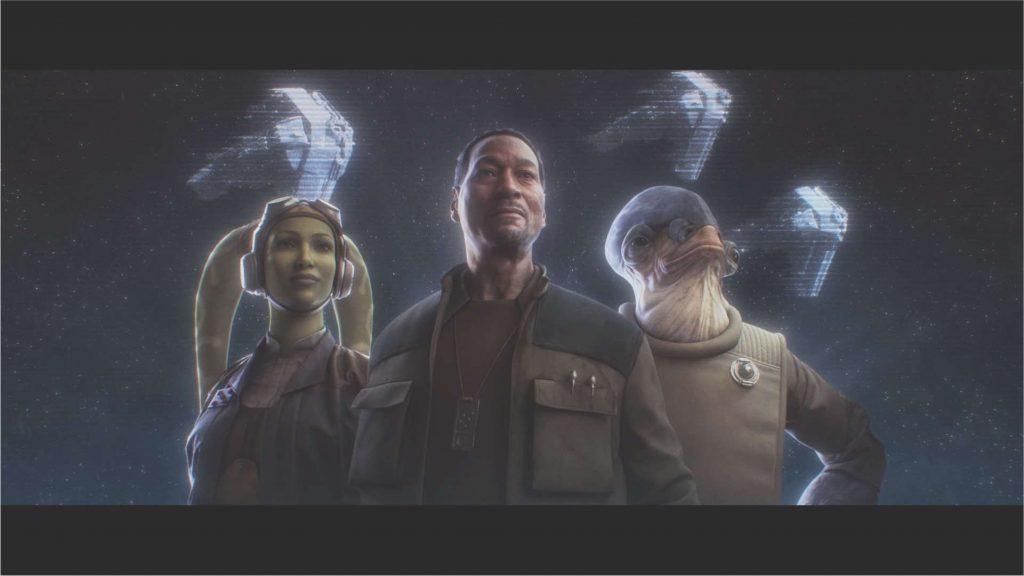"""star-wars-squadrons-story-end-screen-republic """"class ="""" wp-image-576639 """"srcset ="""" https://images.mein-mmo.de/medien/2020/10/star-wars-squadrons- story-end-screen-republic-1024x576.jpg 1024w, https://images.mein-mmo.de/medien/2020/10/star-wars-squadrons-story-ende-bildschirm- Republik-300x169.jpg 300w, https://images.mein-mmo.de/medien/2020/10/star-wars-squadrons-story-ende-bildschirm- Republik-150x84.jpg 150w, https://images.mein-mmo.de/medien / 2020/10 / star-wars-squadrons-story-ende-bildschirm- Republik-768x432.jpg 768w, https://images.mein-mmo.de/medien/2020/10/star-wars-squadrons-story- end-screen-republic-1536x864.jpg 1536w, https://images.mein-mmo.de/medien/2020/10/star-wars-squadrons-story-ende-bildschirm- Republik-780x438.jpg 780w, https: //images.mein-mmo.de/medien/2020/10/star-wars-squadrons-story-ende-bildschirm- Republik.jpg 1921w """"tamaños ="""" (ancho máximo: 1024px) 100vw, 1024px """"> Los jefes están satisfechos, la galaxia se ha guardado para este día, tampoco serán más días.      <p>Queda un rayo de esperanza: si el juego tiene éxito, existe la posibilidad de una segunda parte y posiblemente un multijugador más grande. También estoy feliz de pagar por un título a precio completo. Porque lo único que falta en Star Wars Squadrons, en mi opinión, es una gran cantidad de contenido. De lo contrario, resultó ser un juego de """"Star Wars"""" realmente bueno.</p> <p>¿Te sientes como yo o estás más satisfecho con los escuadrones? ¿O incluso tienes una mala imagen de la aventura espacial? El colega de MyMMO, Jürgen Horn, también piensa que el juego es genial, pero desafortunadamente carece de una codiciada pieza de hardware para disfrutar plenamente de los escuadrones.</p> <!-- AI CONTENT END 1 -->   </div><!-- .entry-content /-->  <div id="""