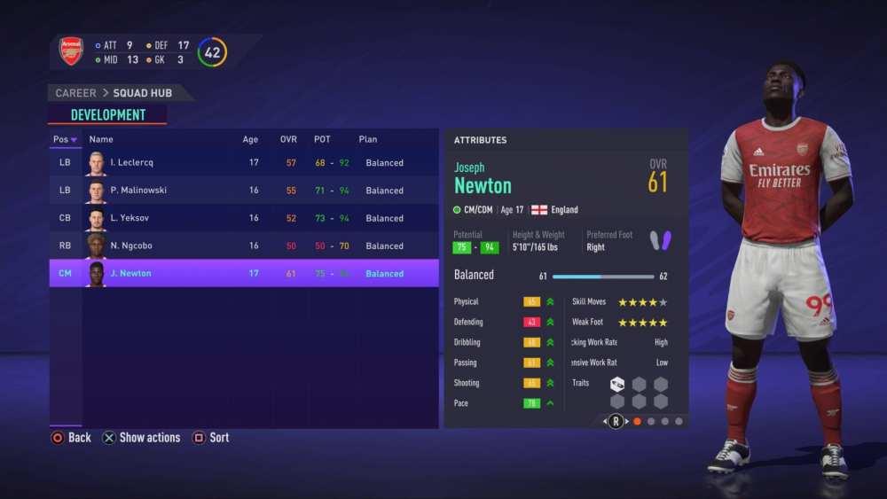 FIFA 21, un talento local