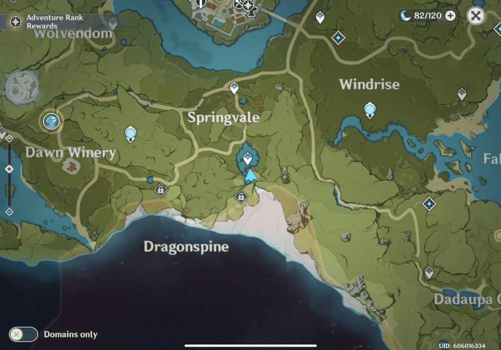 impacto genshin, ubicación secreta del tesoro pirata