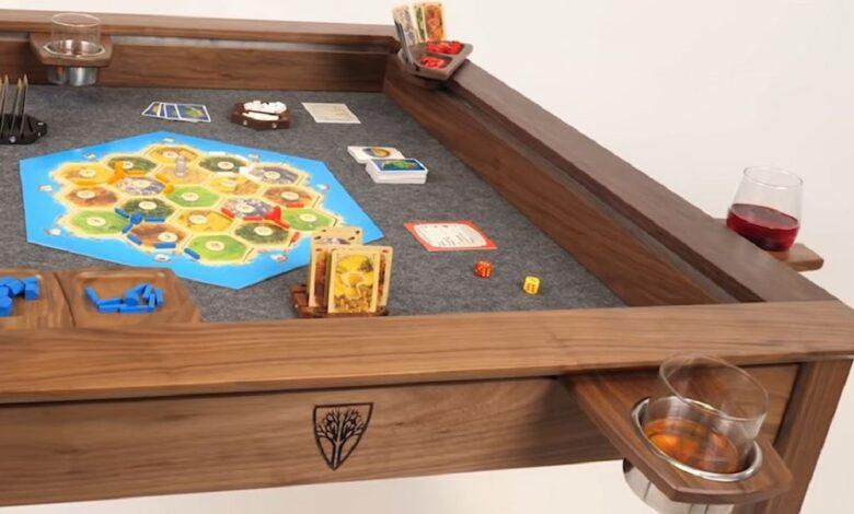 Tisch recauda 7 millones de euros en Kickstarter, porque es perfecto para los nerds de los juegos de mesa