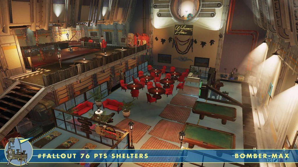 Restaurante Rock n Roll de Fallout 76 Shelters
