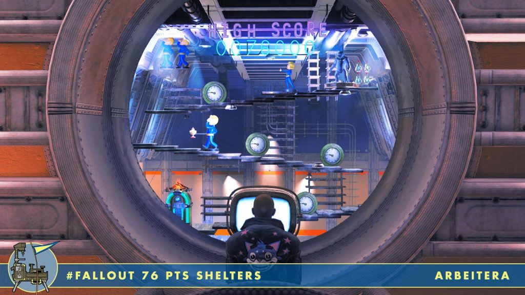 Campo de tiro de Fallout 76 Shelters